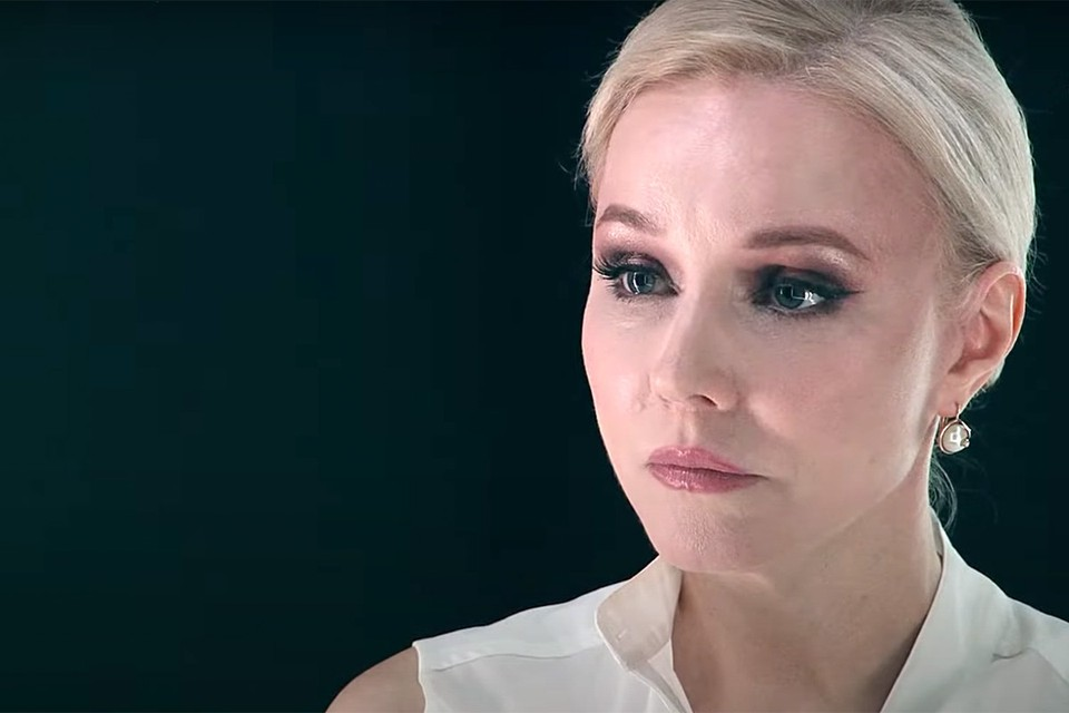 Актриса Марина Зудина во время интервью Антону Красовскому.