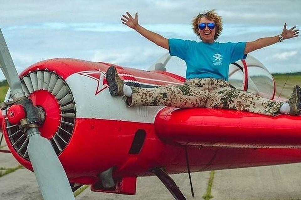 """Большую часть своей жизни Татьяна посвятила небу. Фото: аэродром """"Калинка"""""""