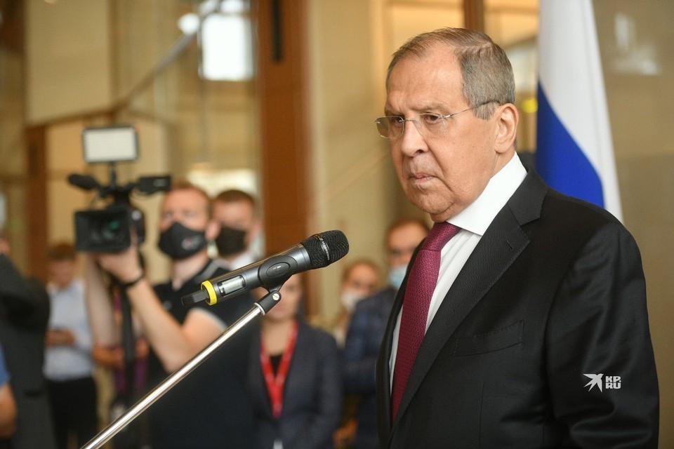 Сергей Лавров сказал. что России не намерена выступать посредником на переговорах с талибами