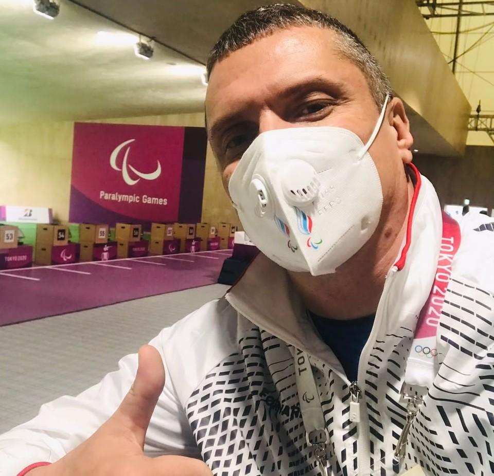 Андрей Кожемякин стал лучшим среди белгородцев на Паралимпиаде-2021. Фото из архива спортсмена.