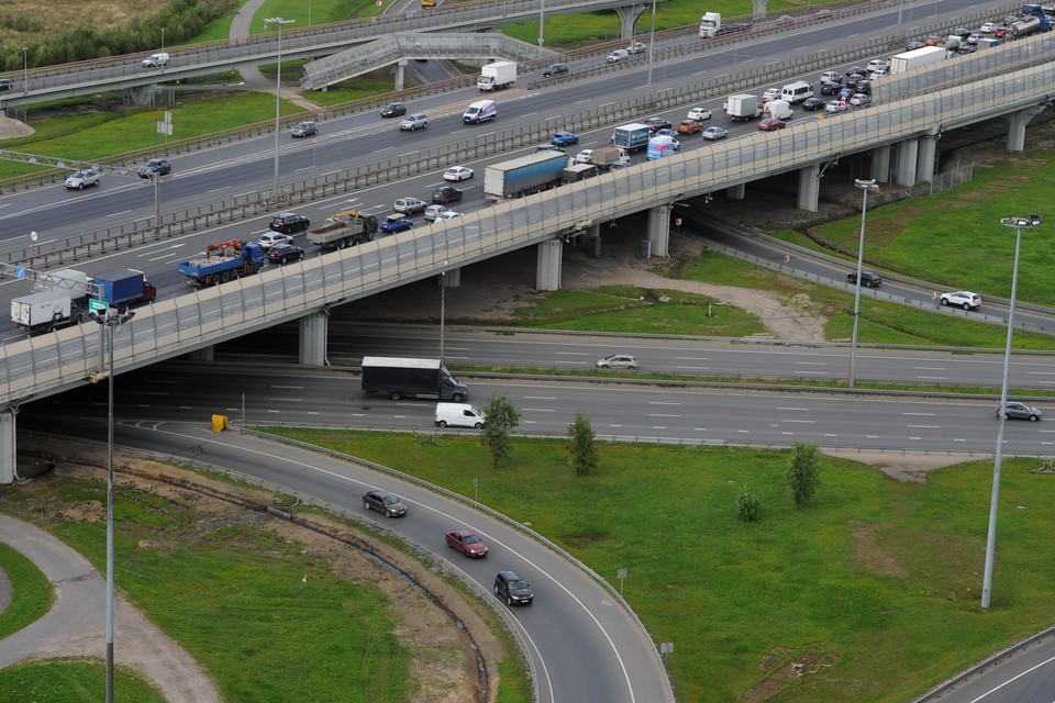 В Токсовском тоннеле на КАД с 8 сентября изменят движение автомобилей