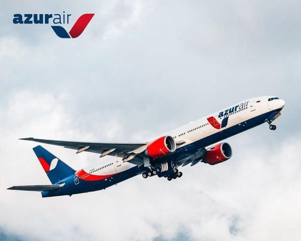 Самолет «Владивосток-Анталья» экстренно сел в Красноярске. Фото: инстаграм/Azur Air