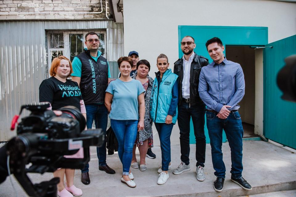 «Новые люди» и телеведущая Юлия Барановская оценили ремонт в калужском общежитии