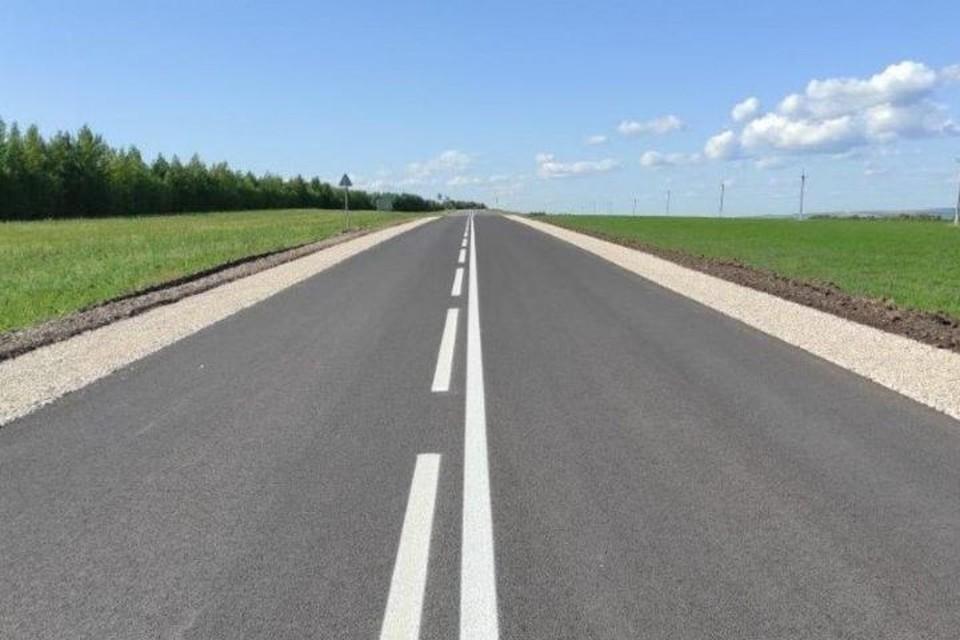 Ремонт провели на участке от 32,2 до 33,8 километра. Фото: mindortrans.tatarstan.ru