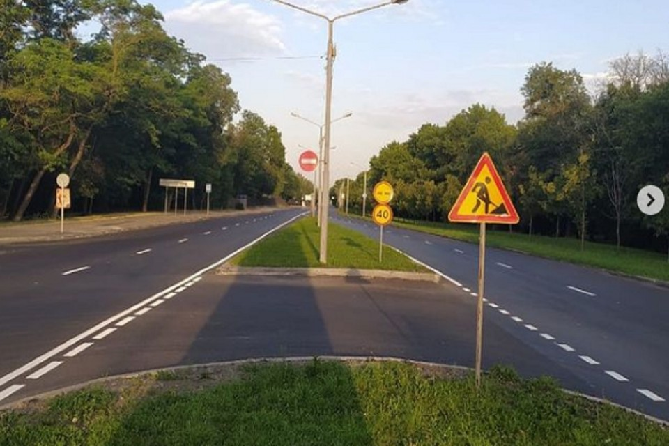 В донской столице за год отремонтировали 16 дорог. Фото: аккаунт Алексея Логвиненко в Инстаграм