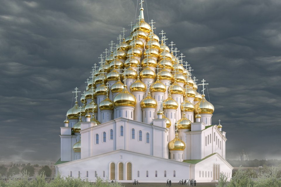 Авторы проекта храма из 320 куполов признались в розыгрыше. Фото: PapaUrban