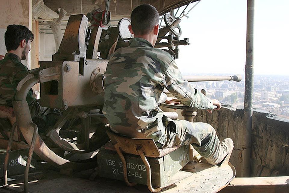Сирийская армия начала массированное наступление на пригороды Дамаска, занятые исламистами